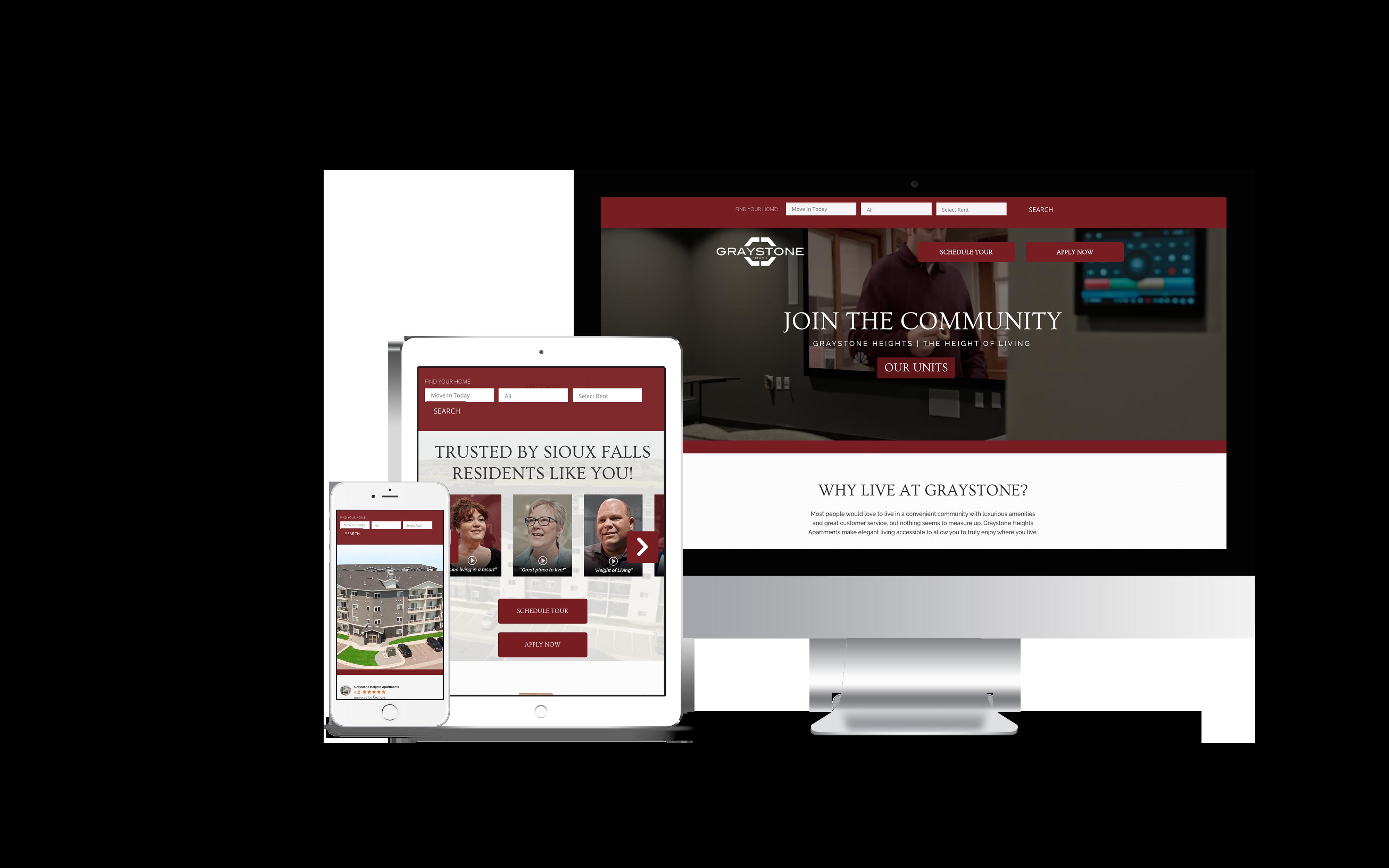 graystone apartments website