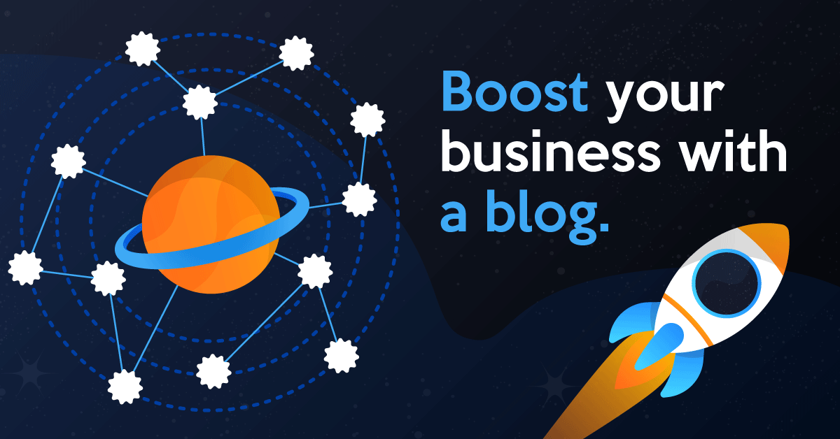 Boost your business with a company blog