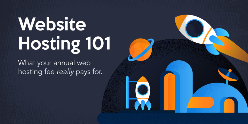 What your annual web hosting fee really pays for.